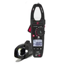 Amperometrische Klemme 1000A AC/DC TRMS-Messungen mit Phasendetektor und Taschenlampe Uniks C122