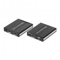 RX+TX Extender HDMI+USB 1080p UTP cat5e/cat6 over ip - 60M