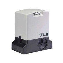 230V Gearmotor SAFE 741 E Z16 with encoder for residential sliding gates 900kg FAAC 1097815