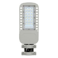 V-TAC PRO VT-34ST 30W LED Street light chip samsung smd kaltweiß 6400K graues aluminium IP65 - sku 957