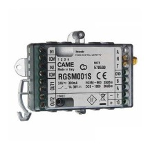 Came RGSM001S GSM module stand-alone gateway for remote management automation gates