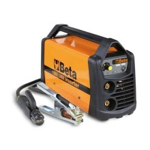 Saldatrice ad inverter con uscita corrente continua (DC) per saldature ad elettrodo MMA e TIG su acciaio Beta 1860 140A
