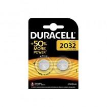Pile au lithium Duracell DL2032 3V - Blister 2 pcs