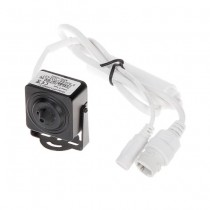 Microcamera digitale IP 3mpx hd+ 1536p pinhole 3.7MM poe metal slot sd IP20