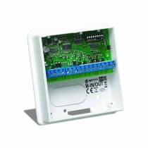 Bentel M-IN/OUT Expander module with 6 programmable terminals.