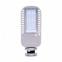 V-TAC PRO VT-54ST Réverbère LED Street light 50W chip samsung blanc froid 6400K aluminium gris IP65 - sku 959