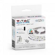 V-TAC Smart Home VT-5050 Led strip set 300led rgb smd5050 WiFi ip20 dimmable works with smartphone - sku 2583