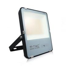 V-TAC Evolution VT-49161 Faro led 100W slim alluminio nero super efficienza 160LM/W bianco freddo 6400K IP65 - SKU 5921