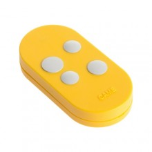 Came Four Channels Remote control Rolling code dual frequency TOPD4RYS Yellow