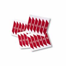 Banders rouges autocollantes réfléchissantes Nice WA10