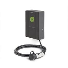 Smart wall box per ricariche di veicoli elettrici con 1 connettore Tipo-2 32A 230Vac 7,4kW con cavo IP54 IK08 - Scame 205.W17-S0