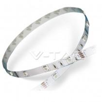 Bande de LED 5050 150LED 5mt Aucune étanche - Mod. VT-5050 IP20 SKU 2124 - Multicolore RGB
