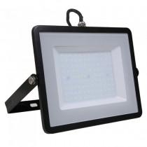 V-TAC PRO VT-106 100W Led Floodlight black slim Chip Samsung smd high lumens cold white 6400K - SKU 767