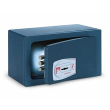 Technomax MINI SAFE wall and free standing safe with double-bitted key MB/0 - made in Italy