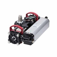 Attuatore oleodinamico 230v interrato s800 enc cbac 100° per ante battente 2m 800kg faac 108800