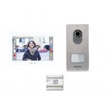 Kit videocitofonico XTS7LVKIT Came Bpt monofamiliare X1 senza fili WI FI touch screen videocitofono XTS7 + Lithos