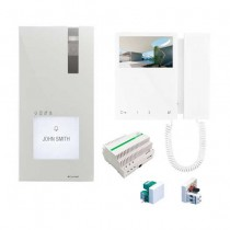 Kit Monofamiliare Videocitofonico Comelit 2 fili System Simplebus 8461M