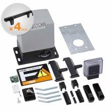 DELTA3 KIT Automatisierung Schiebetüren 900KG 230V + 4M Zahnstange Nylon