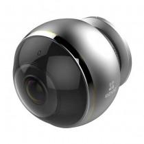 Hikvision Ezviz C6P (Mini Pano) CS-CV346-AO-7A3WFR Mini Network indoor IP-Caméra fisheye 360° Wi-fi hd+ 3mpx audio slot sd p2p