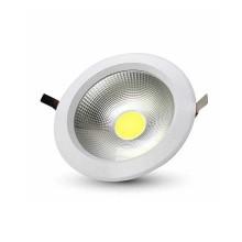 V-TAC VT-26101 10W einbauspot LED cob rund kaltweiß 6400K - SKU 1272