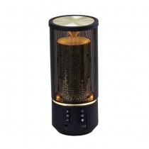 V-TAC SMART HOME VT-6211 Speaker bluetooth LED 2x3W effetto fiamma portatile multifunzione microfono e ingresso microsd aux - sku 7724
