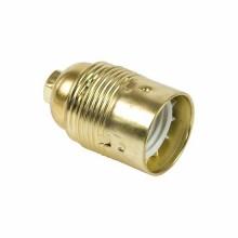 E27 Lampenfassung glatt OR Metallic Gold Fanton 62830