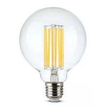 V-TAC VT-2338 Ampoule globe 18W LED filament G95 140LM/W E27 blanc chaud 2700K - SKU 2803