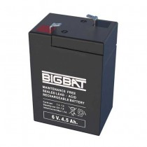 Batteria ricaricabile al piombo 6V 4,5Ah Elan BigBat - sku 00604