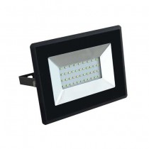 V-TAC VT-4031 30W LED floodlight ultra slim e-series cold white 6500K black body IP65 - SKU 5954
