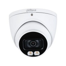 Dahua HAC-HDW1239T-A-LED eyeball dome camera hdcvi 4in1 hybrid 2Mpx 3.6mm starlight fullcolor audio osd ip67
