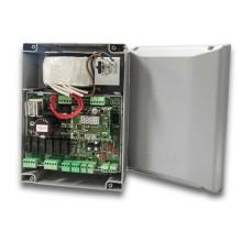 CAME 801QA-0050 ZLX24MA Quadro comando multifunzioni BUS CXN per cancelli a due ante battenti a 24V con display di programmazione