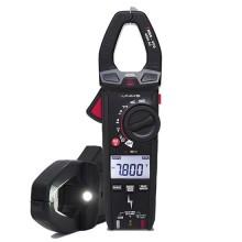 Amperometrische Klemme TRMS-Messungen 400A AC VFD Funktion 600V mit Phasendetektor und Taschenlampe Uniks C54