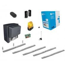 Came BX-78 Kit Schiebetorantrieb 800KG 220V + 5M Metall Zahnstange