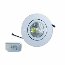 3W LED Downlight COB Runde 40°  Mod. VT- 1104 RD SKU 1184 6000k