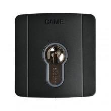 Selettore a chiave da incasso con cilindro serratura DIN Came SELD2FAG