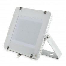 V-TAC PRO VT-200 Faro led 200W slim alluminio bianco chip Samsung SMD bianco freddo 6400K - SKU 421