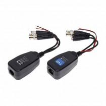 Mini Balun PVD passivo CCTV UTP AHD/HD-CVI/HD-TVI/PAL