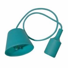 E27 Decoration Pendant Holder 1MT - Mod. VT-7228 SKU 3486 - Green