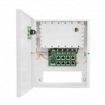 Schaltnetzteil 48V PoE 4x0,4A Metallgehäuse