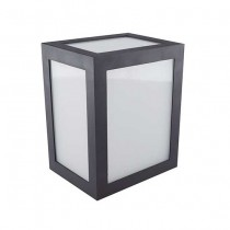V-TAC VT-822 Lampada applique LED 12W wall light cube nero bianco naturale 4000K - sku 8341