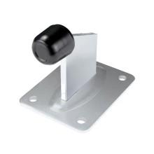 Ferma cancello ad avvitare per scorrevoli in acciaio zincato elettroliticamente 95(H)mm