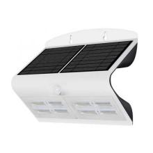 V-TAC VT-767-7 7W LED solar wall light for external IP65 + PIR sensor white color - SKU 8278