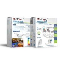 V-TAC VT-5050 LED-Streifen-Set rgb smd5050 ip20 + IR-Fernbedienung LED + Netzteil - SKU 2558