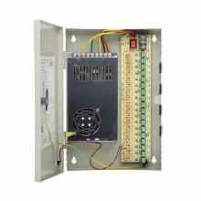 Rack Impulsnetzteil 12V DC 21A 252W 18x1.1A CCTV