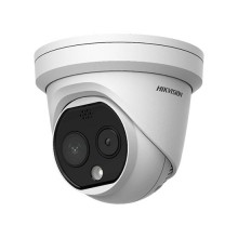 Hikvision DS-2TD1217B-3/PA Fever Screening Thermographic Measurement IP Dome Camera ultra hd+ 4Mpx 4mm poe audio alarm IP66