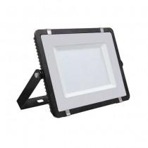 V-TAC PRO VT-150 Faro led 150W slim alluminio nero chip Samsung SMD bianco caldo 3000K - SKU 475