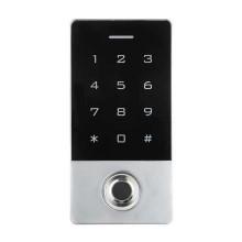 WiFi Smart Keypad Fingerprint Access Control 12V key lock with RFID reader aluminum body IP68