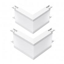 V-TAC PRO VT-7-41-LW 10W L forme 2pcs connecteur encastré linéaire blanc neutre 4000K aluminium blanc - sku 389
