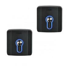 Bausatz Nr. 2 Schlüsselschalter für Außen mit Zylinderschloss DIN Came SELD1FDG - 8K06SL-004