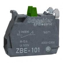 ZBE101 Elemento di contatto - Blocco contatti 1 N/A Ø22 , terminali a Vite Scheneider